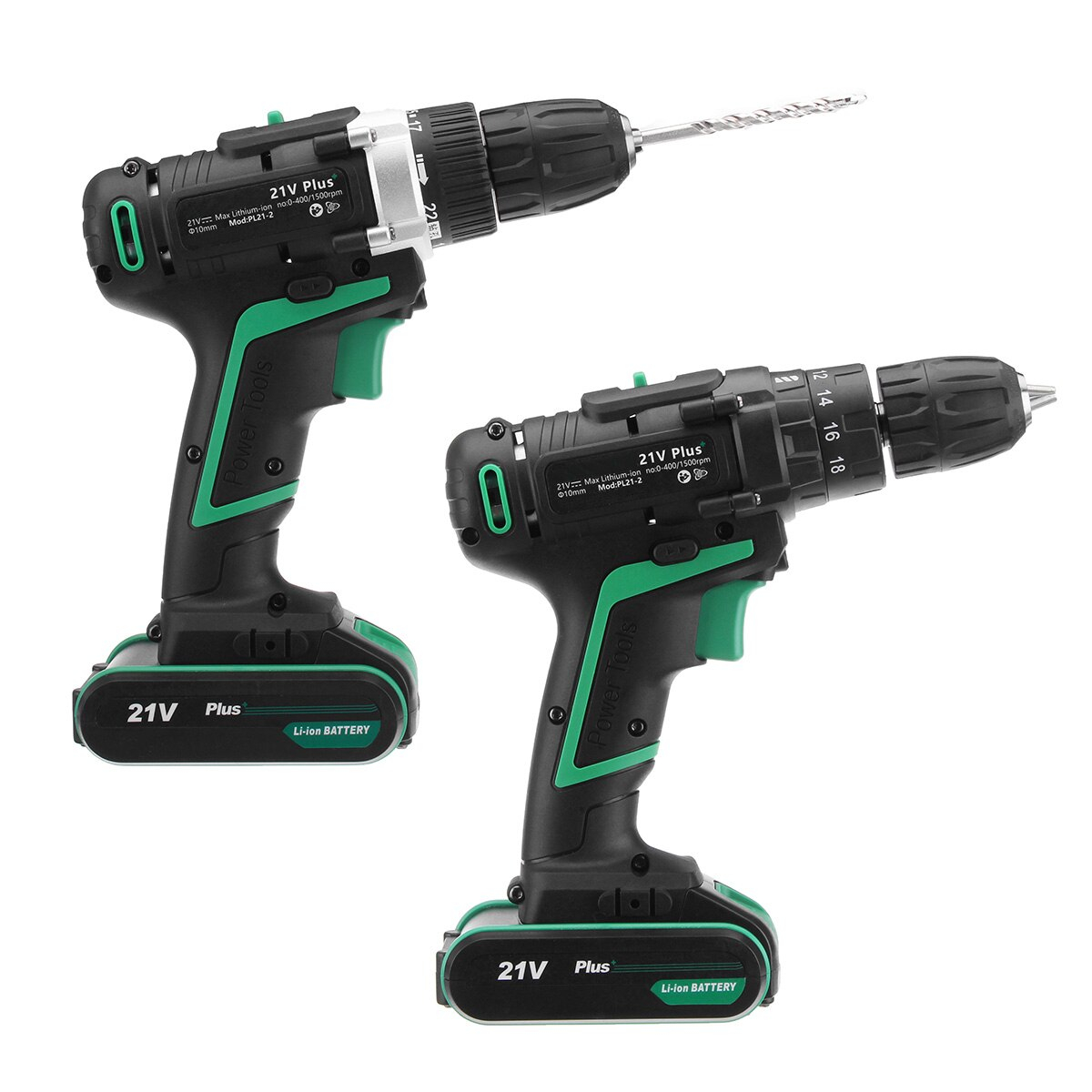 AC 100-240V 21V Plus Electric Screwdriver Cordless Electric Drills Driver Power Tools Included Rechargeable Lithium-ion Battery